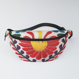 Red Mexican Flower Fanny Pack