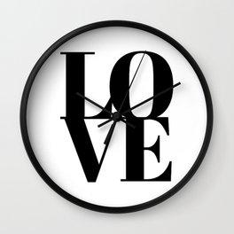L.O.V.E. - Love Wall Clock