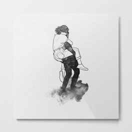 Safety far away. Metal Print