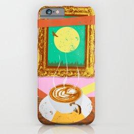 MOON COFFEE iPhone Case