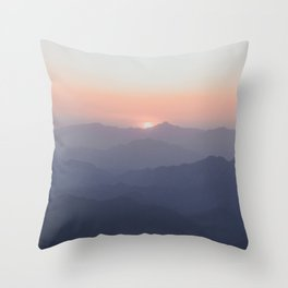 The Great Wall of China III Throw Pillow