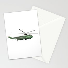Marine One Helicopter Stationery Cards