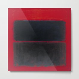 1957 Light Red Over Black by Mark Rothko HD Metal Print