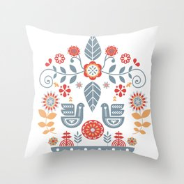 Scandinavian Hygge Throw Pillow