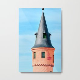 Princess Tower Metal Print