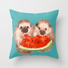 Love is Sharing Throw Pillow