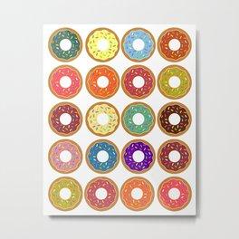Donuts!! Metal Print