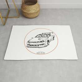 Crazy Car Art 0039 Rug