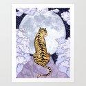 Tiger Moon | Colour Version by ecmazur