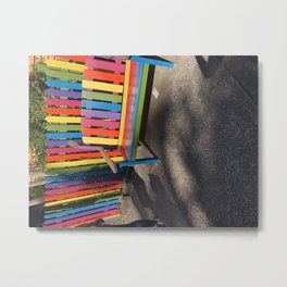 A life full of colour Metal Print