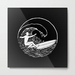 Surf Vibes Metal Print