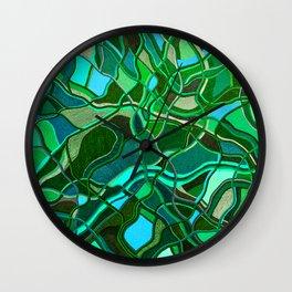 Abstract #8 - V - Jungle Book Wall Clock
