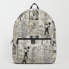 Universal Monster Pattern Backpack