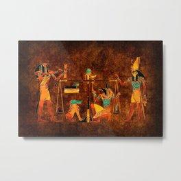 Ancient Egyptian Gods Metal Print