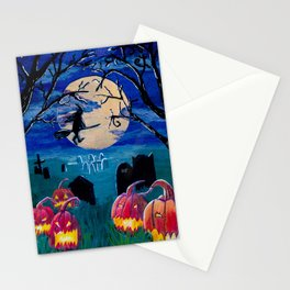 Spooky night Stationery Cards