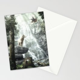 Three Friends, Three Clans Stationery Cards