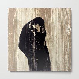 Edvard Munch - Kiss IV Metal Print