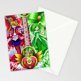 Sailor Mew Guitar #3 - Sailor Moon & Mew Retasu Stationery Cards