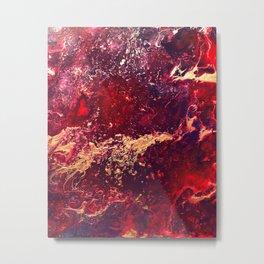 Volcano Eruption Metal Print