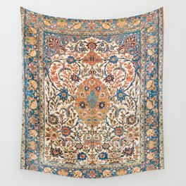 Isfahan Antique Central Persian Carpet Print Wall Tapestry