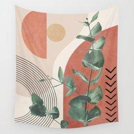 Nature Geometry IV Wall Tapestry