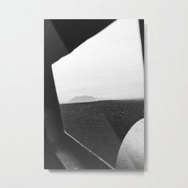 Crash 5 noir Metal Print