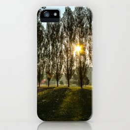 Penn State Sunrise iPhone Case