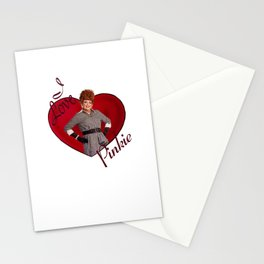 I Love Pinkie Stationery Cards