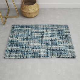 Boucle suiting fabric texture Rug