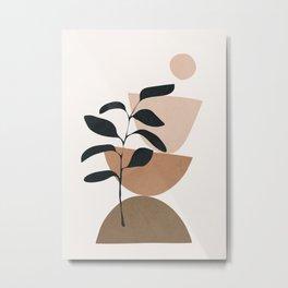 Minimal Shapes No.55 Metal Print