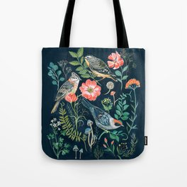 Birds Garden Tote Bag