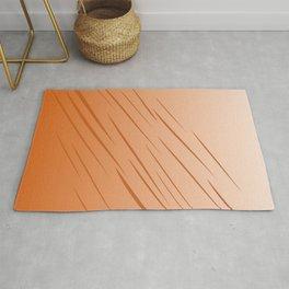 Design lines, gold Wood choco Rug