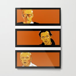 The Good, The Bad, and The Cornettos Metal Print