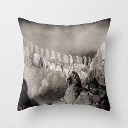 Vivid Retro - Return to Dante's Inferno 2 Throw Pillow
