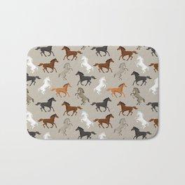 Horse Pattern | Horseback Riding Pony Stallion Bath Mat