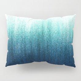 Teal Ombré Pillow Sham