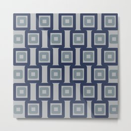 Late 60s fabric Metal Print