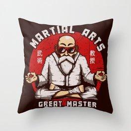 Great Master Throw Pillow