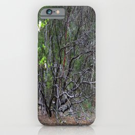 Life from within Mother Earth.... iPhone Case