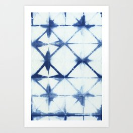 Shibori Thirteen Art Print