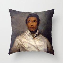 Ira Aldridge - James Northcote Throw Pillow