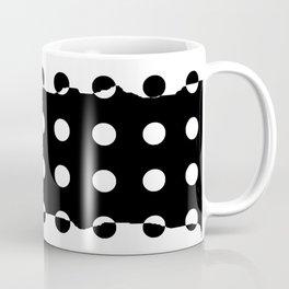 Black and White and Black and Coffee Mug