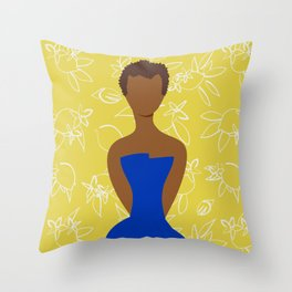 Cultivated and Zesty No 04 Throw Pillow