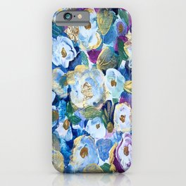 Gilded Floral Tapestry iPhone Case