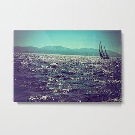 Sailing in Croatia 707 Metal Print