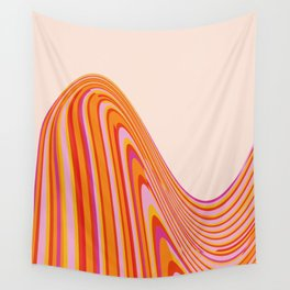 Wave Series p4 Wall Tapestry