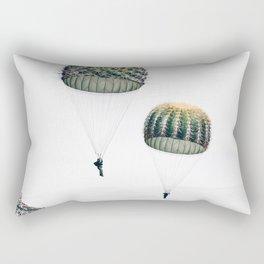 Flying Cacti Rectangular Pillow