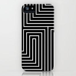 Space Maze iPhone Case