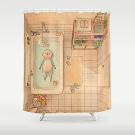 Another Bath Shower Curtain