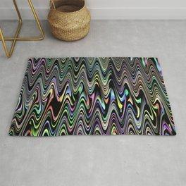 Zigzag Pastel Brights Rug